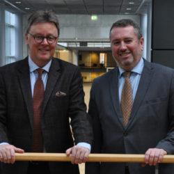 MGB trifft ungarischen Botschafter